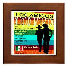 Los Amigos Carnival Pride Framed Tile