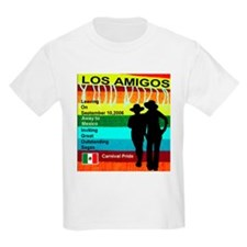 Los Amigos Carnival Pride Kids T-Shirt