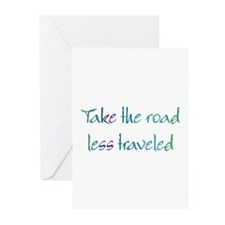 Road Less Traveled Greeting Cards (Pk of 10)