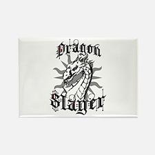 Dragon Slayer Rectangle Magnet