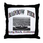 Rainbow Pier Throw Pillow