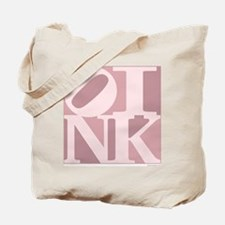 OINK Tote Bag (Pink Graphic)