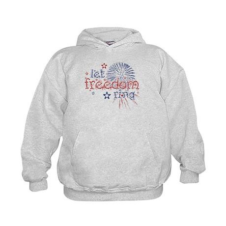 Let Freedom Ring Kids Hoodie