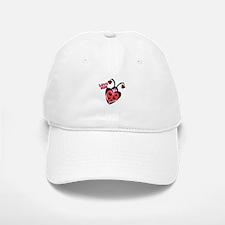 Love Bug Lady Bug Baseball Baseball Cap