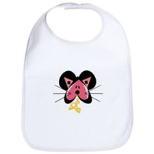 Valentine Mouse with Cheese Bib