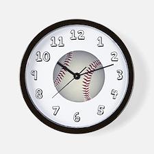 Baseball Sports wall Clock