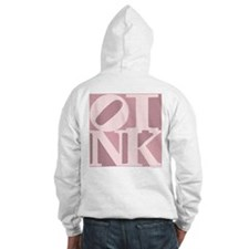 OINK Hoodie (Pink Graphic)