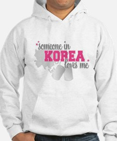 Cute A soldier in afghanistan loves me Hoodie