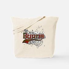 Burns Tartan Grunge Tote Bag