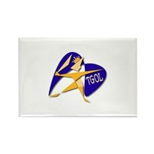 The Goal of Life (TGOL) Rectangle Magnet (10 pack)