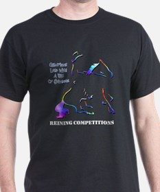 Reining Competitions Black T-Shirt