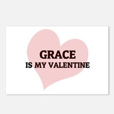 Grace Is My Valentine Postcards (Package of 8)