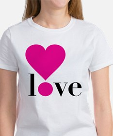 Love! in Hot Pink Tee