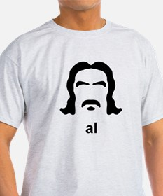 Al Swearengen Black Hirsute T-Shirt