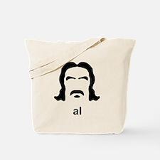 Al Swearengen Black Hirsute Tote Bag