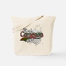Cameron Tartan Grunge Tote Bag