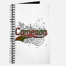 Cameron Tartan Grunge Journal