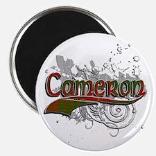 Cameron Tartan Grunge Magnet