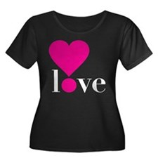 Love! in Hot Pink T