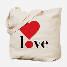 Love! in Red Tote Bag