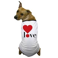 Love! in Red Dog T-Shirt