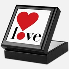 Love! in Red Keepsake Box
