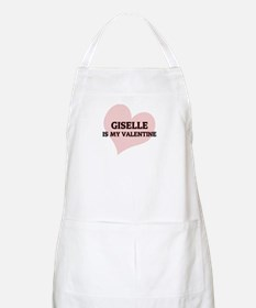 Giselle Is My Valentine BBQ Apron