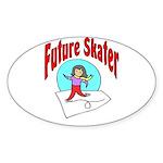 Future Skater Oval Sticker
