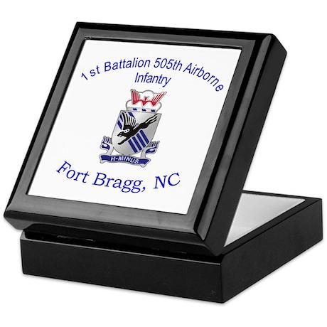 1st Bn 505th ABN Keepsake Box