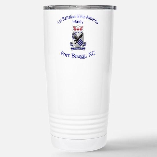 1st Bn 505th ABN Stainless Steel Travel Mug