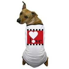 Love! on Red Dog T-Shirt