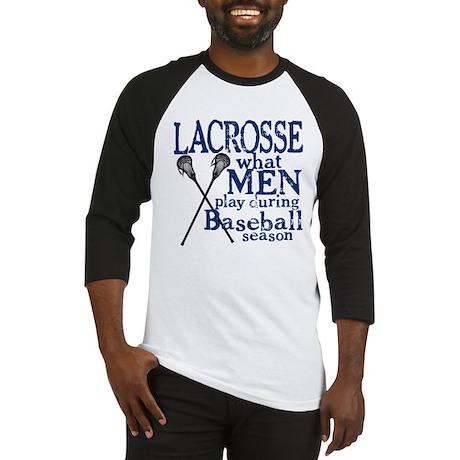 Men Play Lacrosse Baseball Jersey