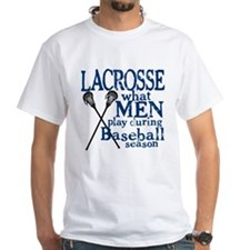 Men Play Lacrosse Shirt
