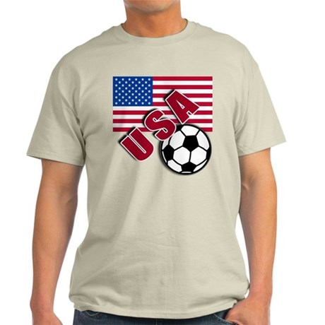 USA Soccer Team Light T-Shirt