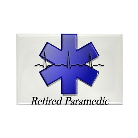 EMT/PARAMEDICS Rectangle Magnet