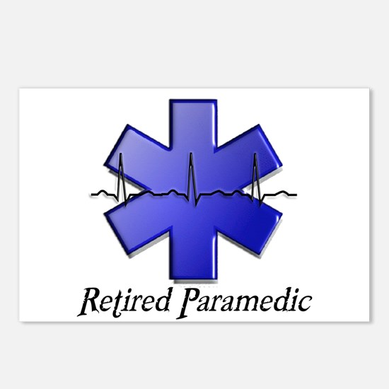 EMT/PARAMEDICS Postcards (Package of 8)