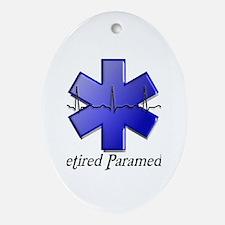 EMT/PARAMEDICS Ornament (Oval)