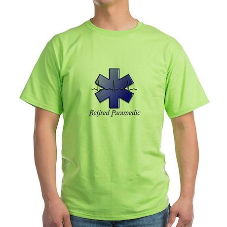 EMT/PARAMEDICS Green T-Shirt
