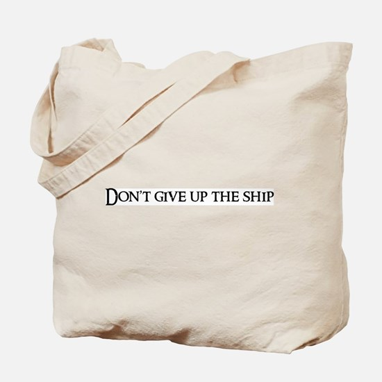 Don't give up the Tote Bag