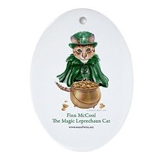 Finn McCool Ornament (Oval)