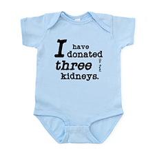 Three Kidneys Infant Bodysuit