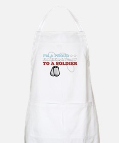 Proud FIL to a Soldier Apron
