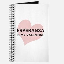 Esperanza Is My Valentine Journal