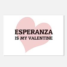 Esperanza Is My Valentine Postcards (Package of 8)