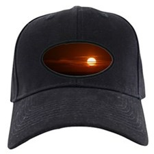 Burning Sun Sunrise Beach Baseball Hat