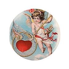 "Cupid's Trap 3.5"" Button"