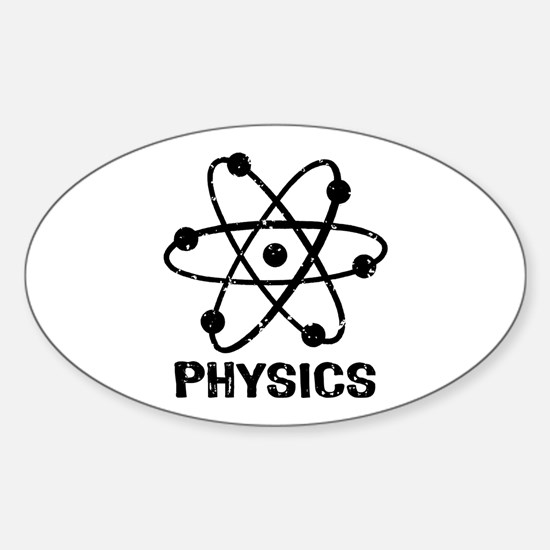 Physics Sticker (Oval)