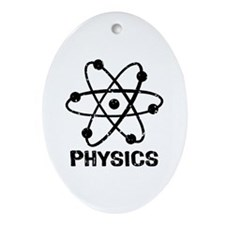 Physics Ornament (Oval)