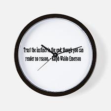 Instinct Wall Clock