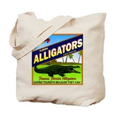 ENJOY ALLIGATORS Tote Bag